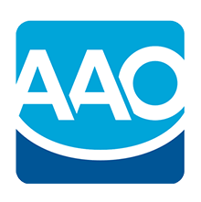 logo for the American Association of Orthodontics